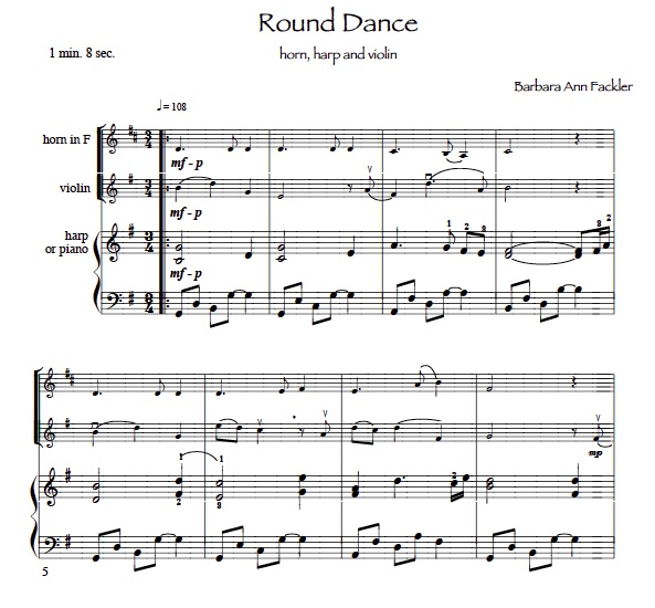 solo and ensemble music french horn