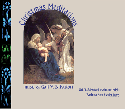 Christmas Meditations for harp and viola ~ Gail Y Salvatori