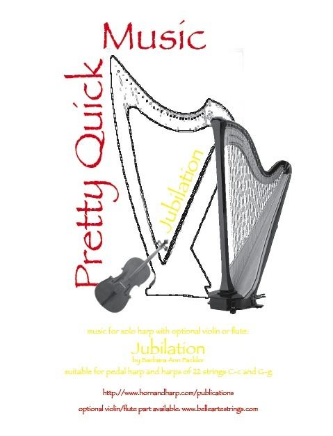 flute and harp wedding processional sheet music