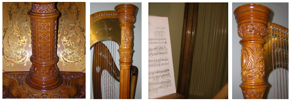 flute and harp sheet music