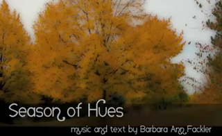 Season of Hues: poetry and music about autumn